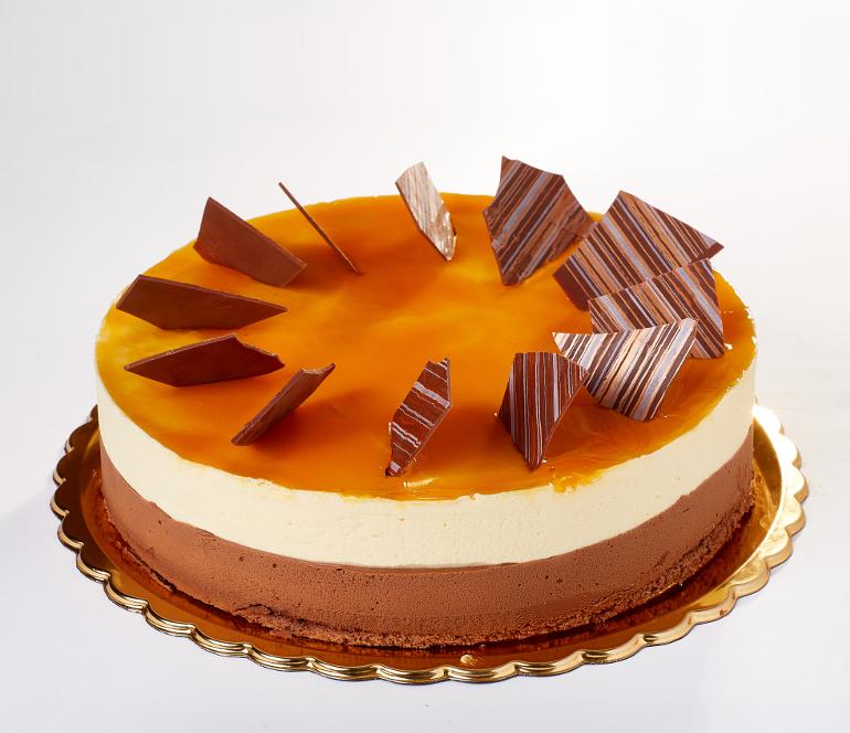 Čokoládový dort s mučenkou - Baštova zmrzlinárna