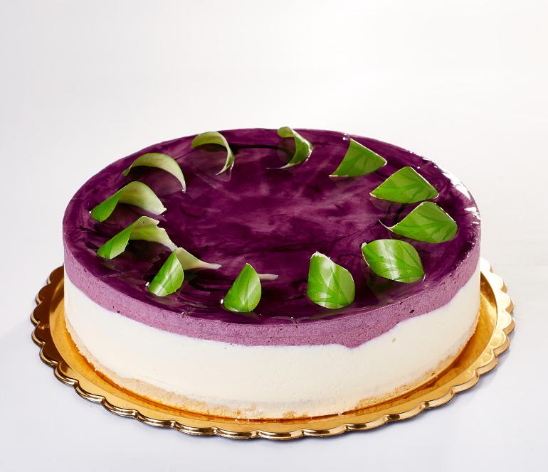 borůvkový cheesecake - Baštova zmrzlinárna