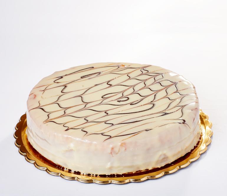 bezlepkový kokosový dort - Baštova zmrzlinárna